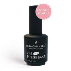Gel Polish - Rubber Base Honey Peach 15ml