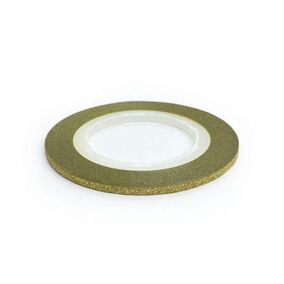 Dekorations Streifen - Matt Gold (2 mm)