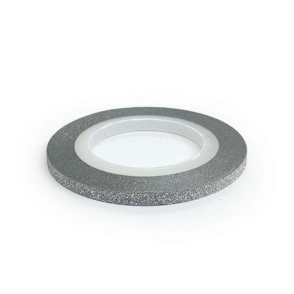 Dekorations Streifen - Matt Silber (3 mm)