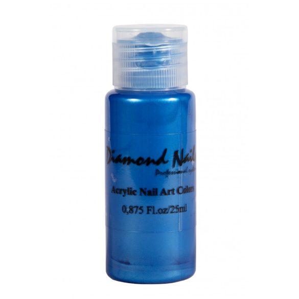 Acrylfarbe in Blau Opal 035