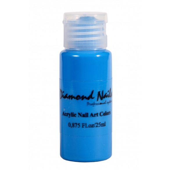 Acrylfarbe in Neon Blau 041