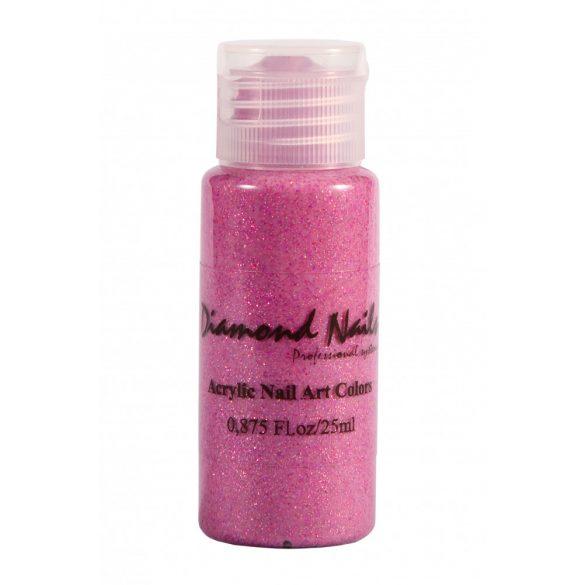 Acrylfarbe in Rosa Glitter 052