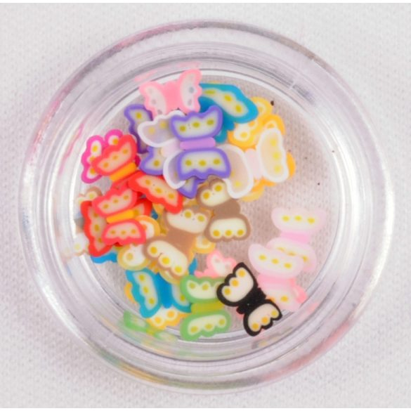 Schmetterlinge aus Gummi