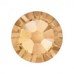 Swarovski Strasssteine in Gold mini 100 Stück