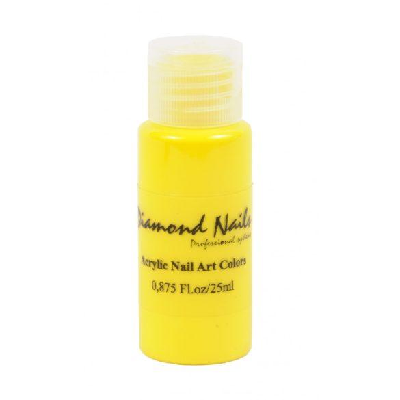 Acrylfarbe in Gelb Perlmutt 025