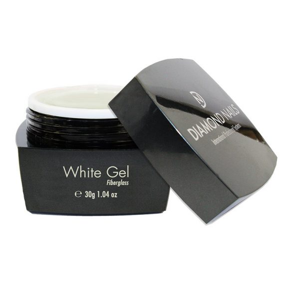 White Fiberglas Gel 30gr