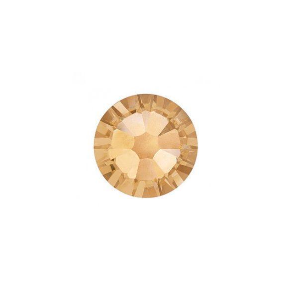 Swarovski Strasssteine in Gold gross 100 Stück