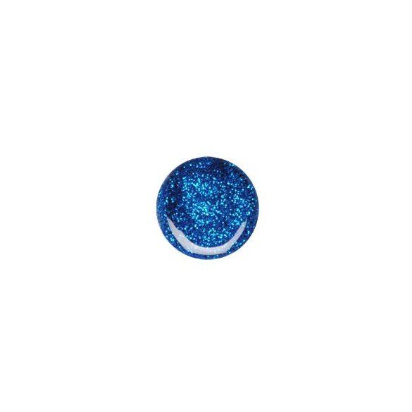 Glitter Gel in Blau 074