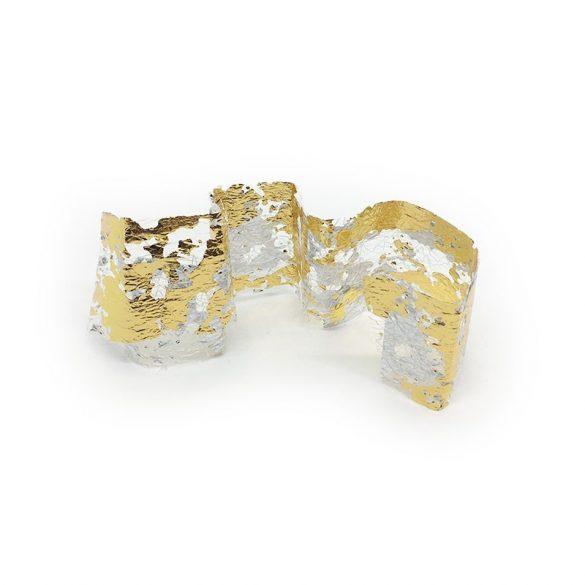 Transferfolie 1Stk. - Gold -Silber 04