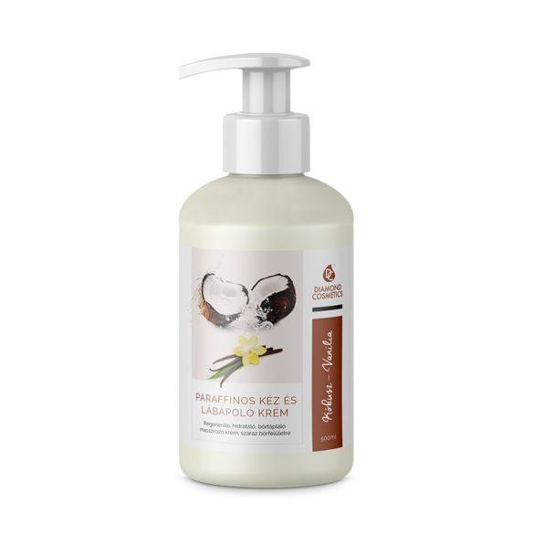 Hand- und Fußpflege Creme mit Paraffin-Vanille-Kokos-500ml